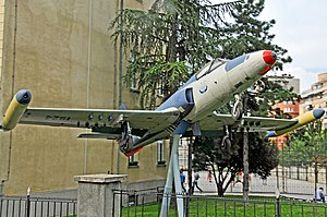 Soko J-21 Jastreb - Image: Serbia 0378 Soko J 21 (7179544613)