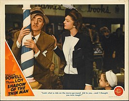 Affiche voor Shadow of the Thin Man