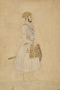 Shah Alam Bahadur (reigned 1707-1712), circa 1675 Painting from LACMA