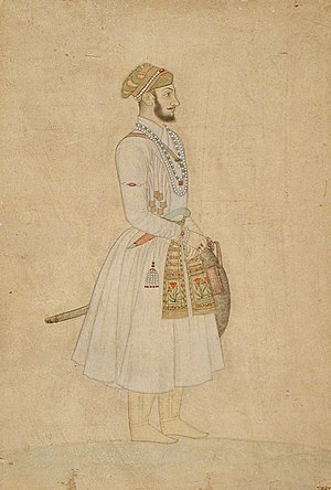 Bahadur Shah I - Prince Mu'azzam in his youth