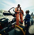 Shah of Iran Mohammad Reza Pahlavi Testing Fighter Jets before taking deliveries of F15 F16.jpg