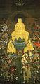 Shaka with Sixteen Benevolent Deities (Hosenji Kesennuma).jpg