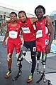 Shaquille Vance, Regas Woods, Desmond Jackson 2015.jpg