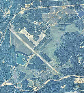Sharpe Field airport in Alabama, United States