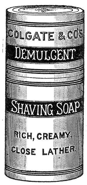 Shaving soap - Shaving Soap ad, 1851