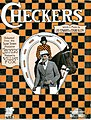 Sheet music cover - CHECKERS (1919).jpg