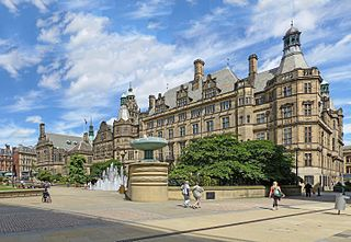 Sheffield Town Hall Grade I listed seat of local government in the United Kingdom