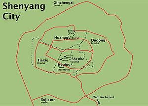 ShenyangDistrictAndLandmark