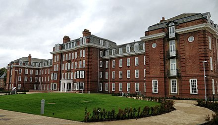 Sheraton Park, site of a former teacher training college and home to Ustinov College since 2017 Sheraton Park Durham.jpg
