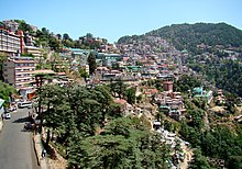 Shimla Southern Side of Ridge.JPG