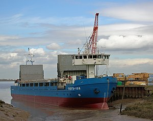 Ship Ladoga-108 in Barrow Haven (port) - 18 April 2008.jpg