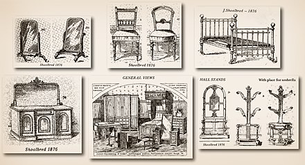Illustrated Catalog Of The James Shoolbred Company Published In 1876