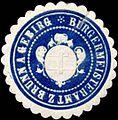 Siegelmarke Bürgermeisteramt zu Brunn am Gebirge W0319577.jpg