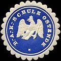 Siegelmarke B. - A. - K. - Schule Ostende W0239462.jpg