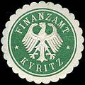 Siegelmarke Finanzamt - Kyritz W0238469.jpg