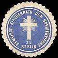 Siegelmarke Gemeinde - Kirchenrath der Sophienkirche zu Berlin W0235787.jpg