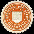 Siegelmarke Magistrat der Stadt Dillenburg W0311583.jpg
