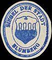 Siegelmarke Siegel der Stadt Blumberg W0385105.jpg