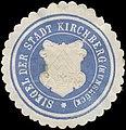 Siegelmarke Siegel der Stadt Kirchberg-Hunsrück W0392635.jpg