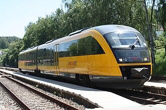 RegioJet - Image: Siemens Desiro Classic (Regio Jet)