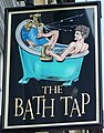 Sign for the Bath Tap, Bath - geograph.org.uk - 987096.jpg