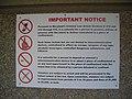 Sign near prison door.JPG