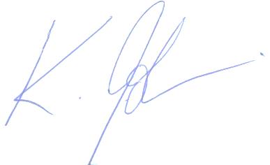 Klaus Iohannis's signature