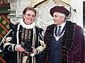 Siiri Oviir ja Peeter Lepp, Tallinna eksmeer Vanalinna päevadel 99.jpg
