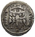 Silbermünze des Diocletianus Rückseite (cut out).JPG