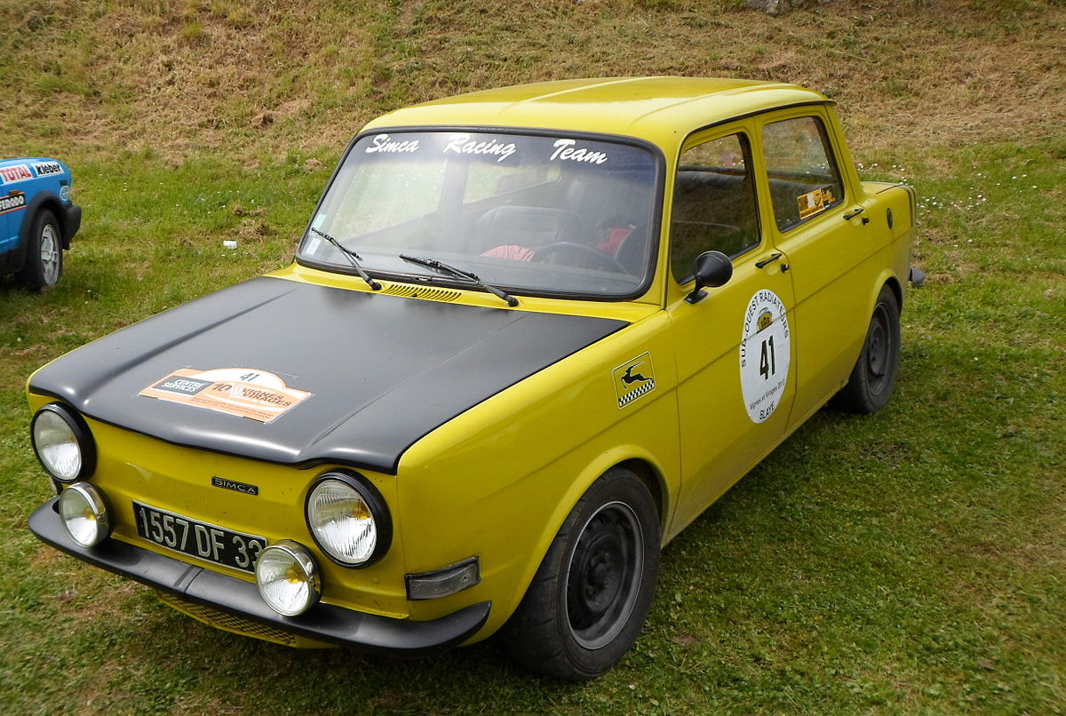 Simca 1000 Rallye Wikipédia