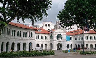 Singapore Art Museum Contemporary Art, museum in Bras Basah Road, Singapore