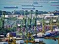 Singapore Port viewed from The Pinnacle@Duxton 09.jpg
