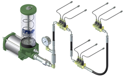 Single Line Parallel Automatic Lubrication System