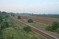 Single track railway at Bagworth - geograph.org.uk - 261703.jpg