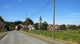 Sint-Agatha-Rode Place in Flemish Region, Belgium