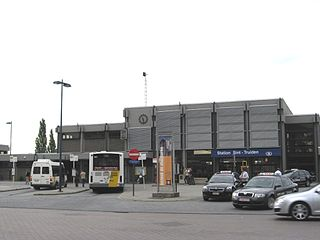 Sint-Truiden railway station railway station in Belgium
