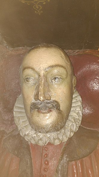 Anthony Benn (Recorder of London) - Effigy of Sir Anthony Benn