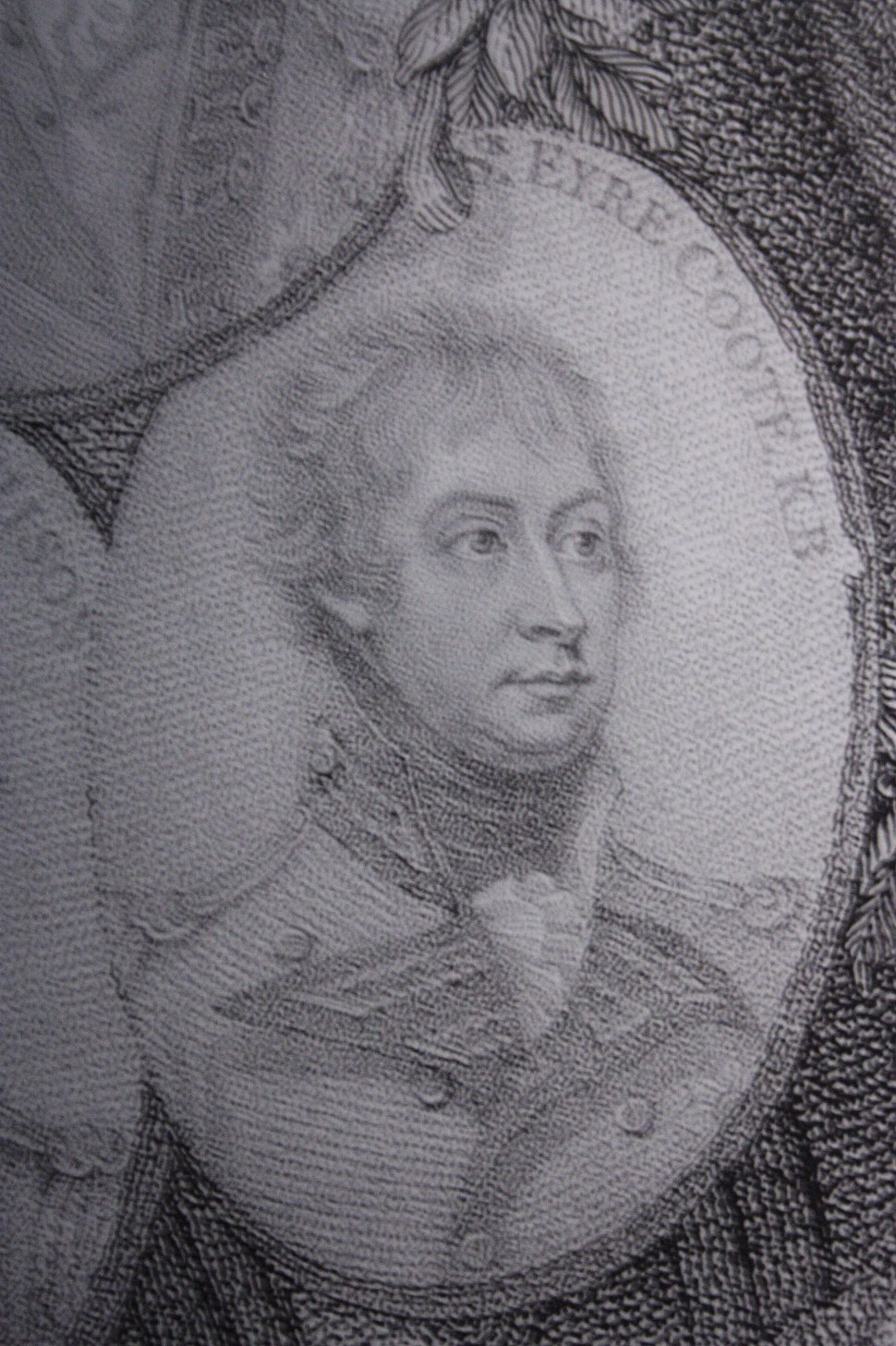 Sir Eyre Coote in 1801