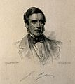 Sir James Paget. Stipple engraving by C. Holl after G. Richm Wellcome V0004419.jpg