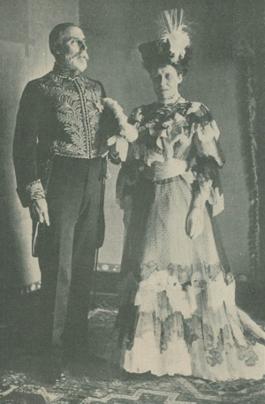 Maurice de Bunsen - Sir Maurice de Bunsen and his wife, c. 1905.