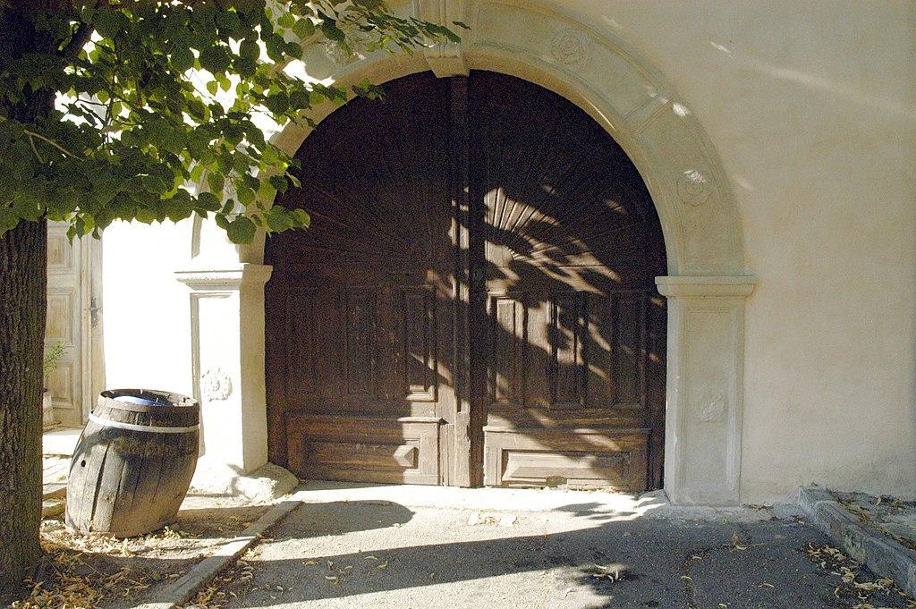 Datei:Sitzendorf - Portal Herrschaftskeller.jpg