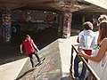 Skateboarding by Queen Elizabeth Hall - geograph.org.uk - 897463.jpg