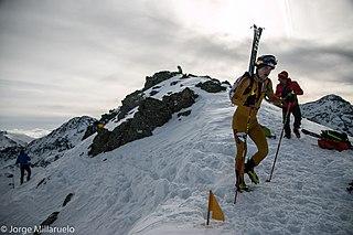Anton Palzer German ski mountaineer