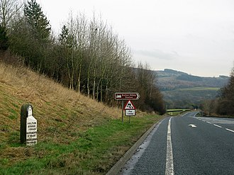A59 road - The A59 (new alignment) near Bolton Bridge, approx 3 miles east of Skipton