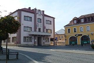 Skuteč Town in Czech Republic