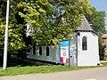 Slijk-Ewijk welkomstbord en NH kerk RM 36758.JPG