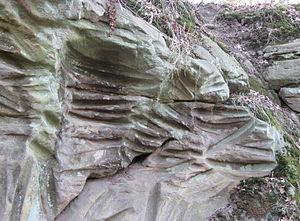 Sliprännor i Gantofta - Sliprännor i Gantofta; Detail