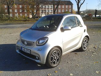 Smart Fortwo - Image: Smart fortwo (Baureihe 453)