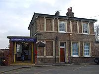 Snaresbrook station building.JPG