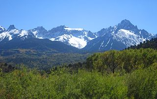 Southern Rocky Mountains major subregion of the Rocky Mountains of North America